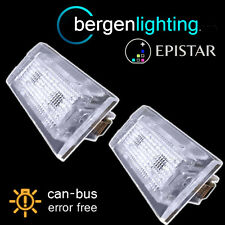 FOR BMW X3 E83 2003-2010 X5 E53 1999-2003 18 LED NUMBER PLATE LIGHT LAMP PAIR
