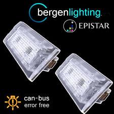 Para Bmw X3 E83 2003-2010 X5 E53 1999-2003 18 Led matrícula Luz Lámpara Par