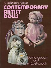 Contemporary Collectible Artist Dolls - Types Makers Dates / Scarce Book