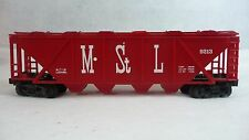 LIONEL 6-9213 Minneapolis & St. Louis Covered Hopper LN