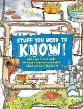 Stuff You Need Know! by John Farndon (2015, Paperback)