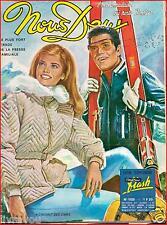 ▬►NOUS DEUX 1120 (1968) CHARLOTTE LESLIE_ROMAN PHOTOS JEAN-CLAUDE PASCAL