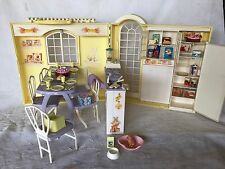 Pregnant Barbie Midge Neighbor Hood Happy Family Grandmas Kitchen Doll House