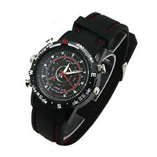 4GB Waterproof Spy Watch Hidden Pinhole Security Camera Video Recorder DVR Cam
