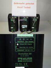 Murr Evolución 20 Fuente conmutada 3-fase 360-520 VAC OUT 12-13,5V power suppl