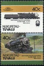 1923 SP Class 4300 4-8-2 Southern Pacific Railroad Train Stamps / LOCO 100