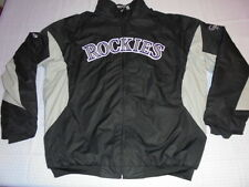 authentic Colorado Rockies Therma Base Triple Peak Baseball Jacket 3X 3XL NWOT