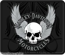 harley davidson skull wings utility mat welcome back garage willie g HD floor