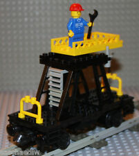 LEGO® Eisenbahn 9V 12V RC - Montagewagen 7821 von 1983 *TOP* für alle Systeme