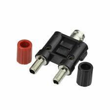 ADAPTER BNC Jack TO Dual BANANA plug Female Jack USA