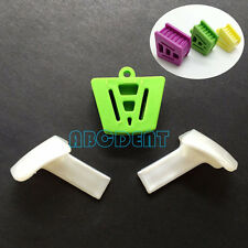 Large+Medium+Small Dental Silicone Mouth Prop Latex Bite Block with Tongue Guard