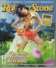 Rivista ROLLING STONE ANNO 2004 NUMERO 09 - ROSARIO DAWAON - SEAN PENN- MONACO72