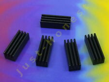Stk. 5 x Kühlkörper IC -  L293D, 754410, Radiator,Heatsink ,DIL, DIP   #A848