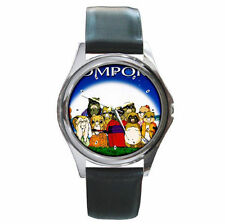 Anime Pom Poko Bright Moon ultimate leather watch