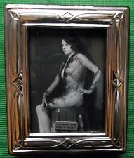 Celtic Edwardian Design Hallmarked Sterling Silver Photo Frame : Xmas Valentines
