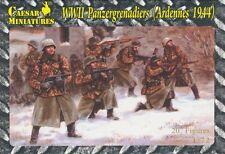 Caesar Miniatures 1/72nd WWII German Panzergrenadiers Ardennes 1944 HB2 NEW