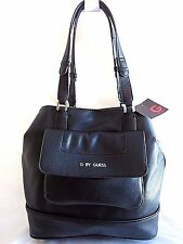 GUESS CEDAR SPRING LARGE TOTE SHOPPER BLACK NWT