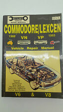 Max Ellerys No EP.CL Holden Commodore Lexcen VN VP 1988 - 1993 Repair Manual