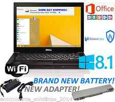 Dell Laptop Latitude Windows 8.1 PRO Microsoft Office 2013 WiFi HD Picture 4 USB