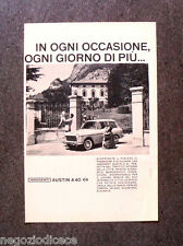 [GCG]  N863 - Advertising Pubblicità - 1961 - INNOCENTI AUSTIN A 40