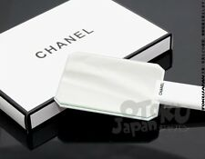 Chanel VIP Gift Make Up Bag Brush Eye Lip Stick Hand Mirror Gloss White New