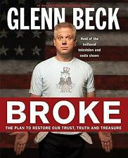 BROKE a HARDCOVER Trust Truth Treasure book by Glenn Beck FREE SHIPPING glen