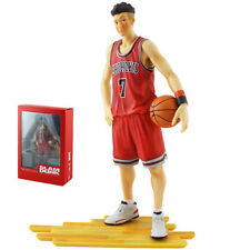 "SLAM DUNK Shohoku Player No.7 Ryota Miyagi 21cm/8.4"" PVC Figure New In Box Red"
