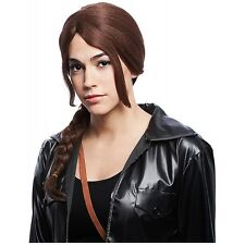 Arena Girl Wig Adult Teen Katniss Hunger Games Halloween Costume Accessory