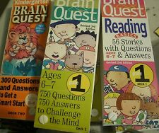 Brain Quest cards Elementary School Teacher education resources for classroom