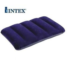 2 Pcs Set ORIGINAL INTEX Travel Rest Air Pillow Fabric Comfort Genuine Intex
