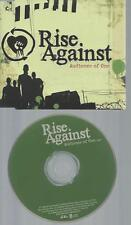 CD--RISE AGAINST AUDIENCE OF ONE   // PROMO