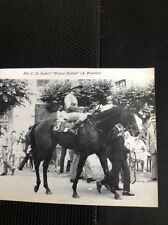 L1-3 Ephemera 1968 Small Picture  Horse Racing Wolver Hollow A Breasley Iselin