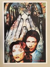 X-FILES,THETRUTH IS OUT THERE, RARE AUTHENTIC 1996  POSTER