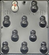 Snowman Bite Size Chocolate Candy Mold Christmas 2121 NEW