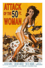 Attack of the 50 ft Woman Poster Print, 24x36