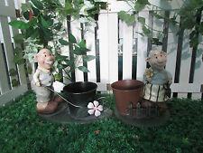 Patio de jardín patio porche Plantador Olla Planta Flor titular Decoración Ornamento