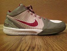 Nike Kobe 4 IV Lower Merion Aces Silver Reflect 3m Size 13