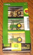 *John Deere 4020 Tractor Set 1/64 ERTL Toy 40th Anniversary Lego Case  GOLD  Cab