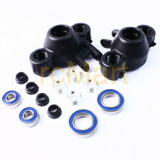 RPM Steering Knuckles For Traxxas Revo Slayer T-Maxx E-Maxx Black RC Car #80582