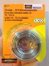 M00600 MOREZMORE 18 GA Steel Wire Sculpting OOAK Doll Figure Armature 50 ft A60