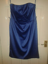 Womens Sleeveless Bandeau Dress - Bravissimo - Electric Blue - 14 RC - BNWT £65