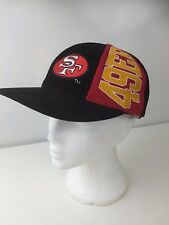 San Francisco 49ers Black Red Yellow NFL Football Snapback Baseball Cap