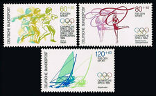 Germany B620-B622, MNH. Olympics, Los Angeles. Discus, Gymnastics, Surfing, 1984