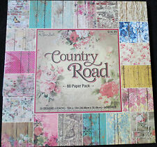 Country Road 12x12 Paper Pack by The Paper Studio  Vintage Chic Style Papers