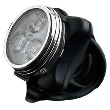3 led RECHARGEABLE bike lights - very bright - 4 modes - high quality - UK STOCK