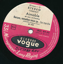 "AIMABLE 7"" FRANCE MON AMANT DE SAINT-JEAN (VOGUE STEREO COMPACT)"