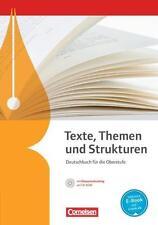 Deutschbuch für die gymnasiale Oberstufe                 Neu & unbenutzt!!!