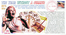 "COVERSCAPE computer designed 200th of the ""Year Without a Summer"" event cover"
