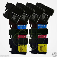 10 LC61 Ink Cartridge Set for Brother MFC-495CW Printer
