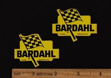 BARDAHL OIL STICKER Vintage Motocross Enduro Decal Motorcycle Husqvarna Penton